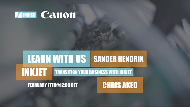 Transition your business with inkjet